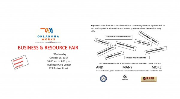 Business and Resource Fair Muskogee Civic Center